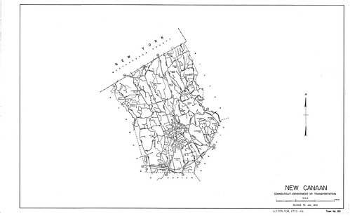 New Canaan/ Connecticut Department of Transportation 1970