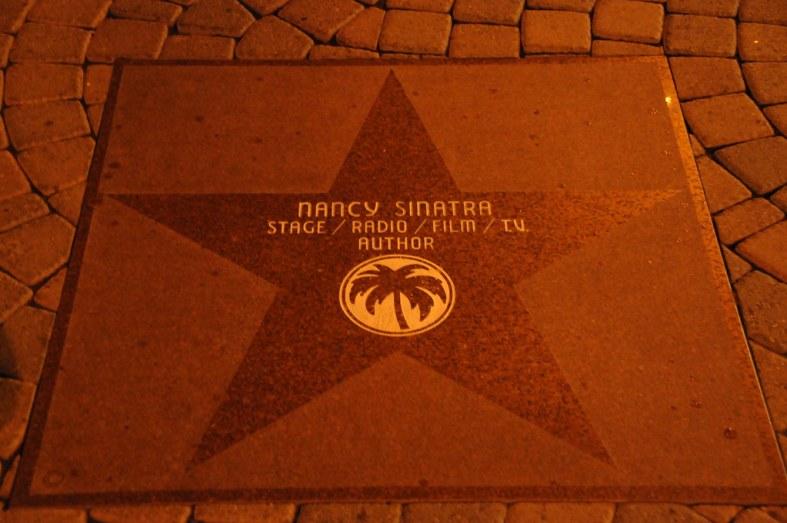Nancy's a Star in Palm Springs