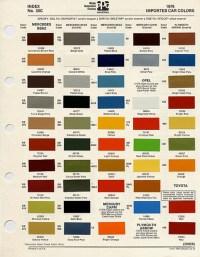 1976 Mercury PPG Colors 2   Pintopower   Flickr
