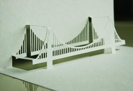 Paper Architect Golden Gate Bridge  something I did for