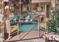 1950s Mid Century Living Room | This was an ad for ...