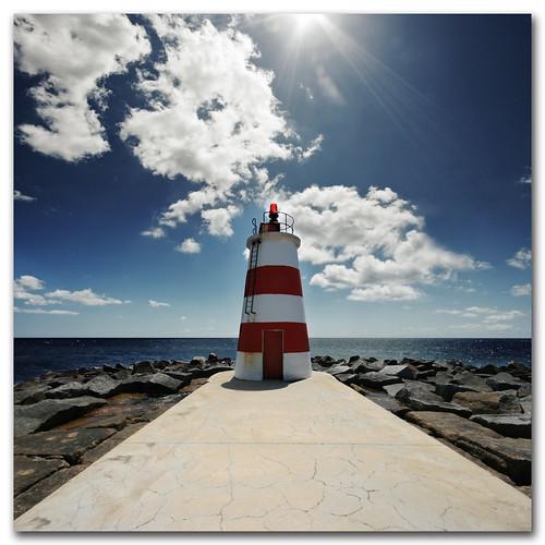 The Littlest Lighthouse, Portimao, Portugal