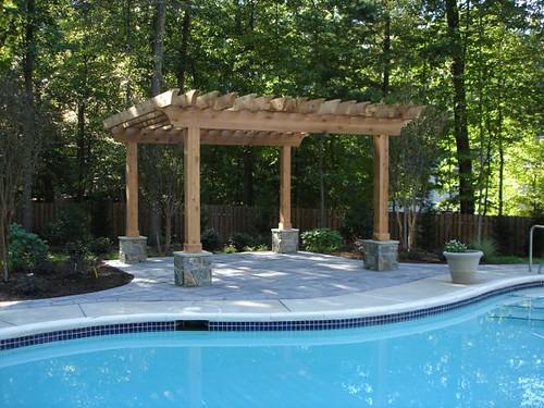 Backyard Swimming Pool Landscape  MM Professional