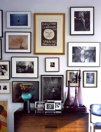 gallery grouping eclectic framed art photography mix flickr