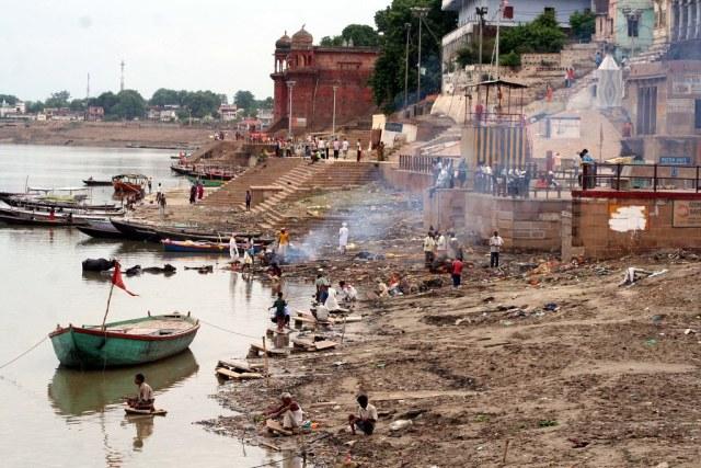 A ghat to reach heaven!