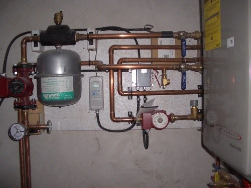 small resolution of  hot water on demand and radiant floor heating system by electric by nature