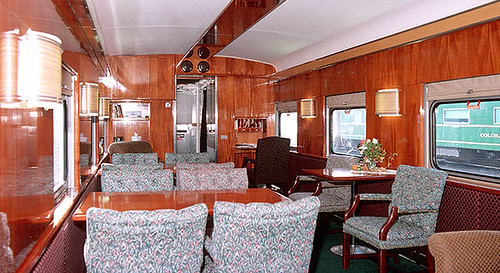 light kitchen table high private rail car - mount vernon, interior (usa) | the ...