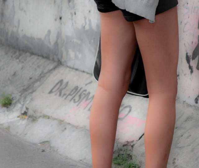 Teen Sexy Legs By Yomie