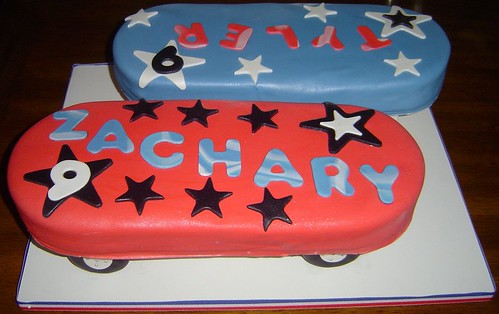 Skateboard Cakes For Twin 9 Year Old Boys I Am