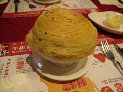 螺旋酥皮濃湯   還蠻特殊的.....造型 至於口味~還OK,不難吃   Henry Chen   Flickr