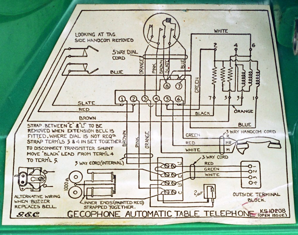 medium resolution of gecophone circuit diagram by russell w b gecophone circuit diagram by russell w b