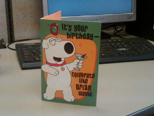 Family Guy Birthday Card Card Pat Flickr