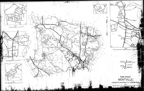 Town roads Montville/ Connecticut Department of Transporta