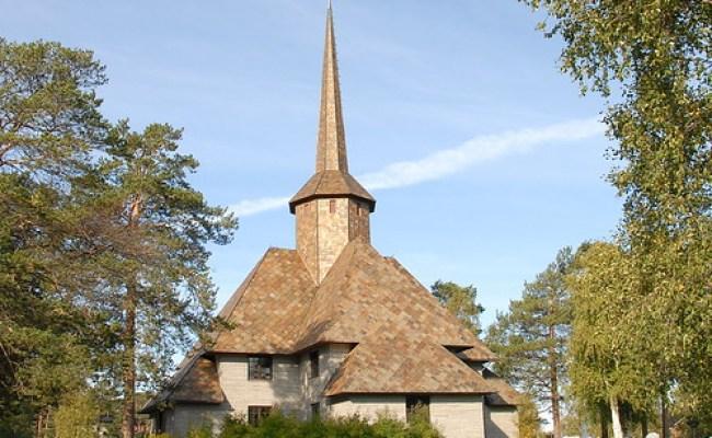 Dombås Kirke Dovre Oppland Korskirke Fra 1939 Nye