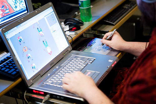 Inside the Game Design Campus  Find out more about VFSs on  Flickr
