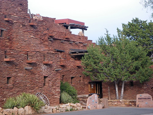 Hopi House  Grand Canyon Village  This is the Hopi House