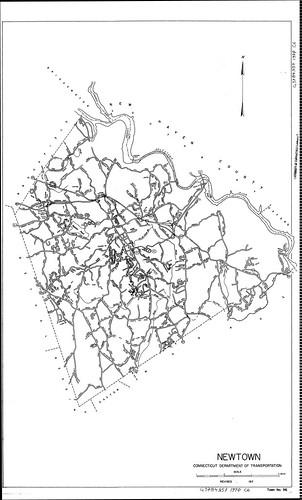 Newtown/ Connecticut Department of Transportation 1970