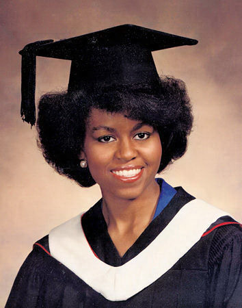 Michelle Robinson 1985 Graduation form Princeton Universit