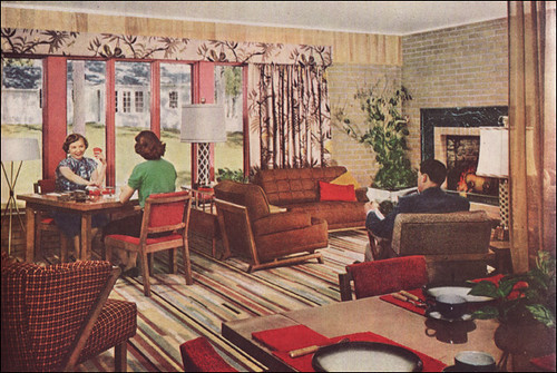 1951 Living Room  Source Better Homes  Gardens From the M  Flickr