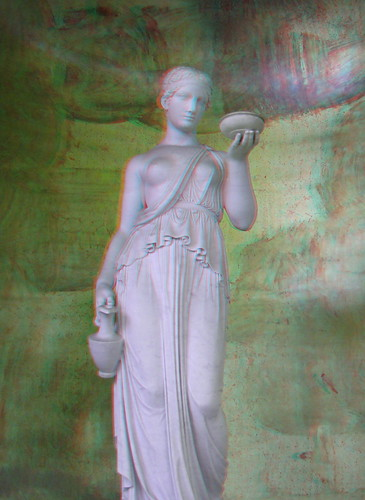 Hebe Ancient Greek Goddess of Youth 3D  Use redcyan