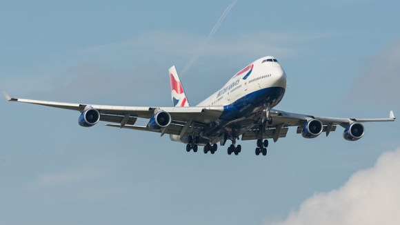 Boeing 747, G-BNLW, British Airways.