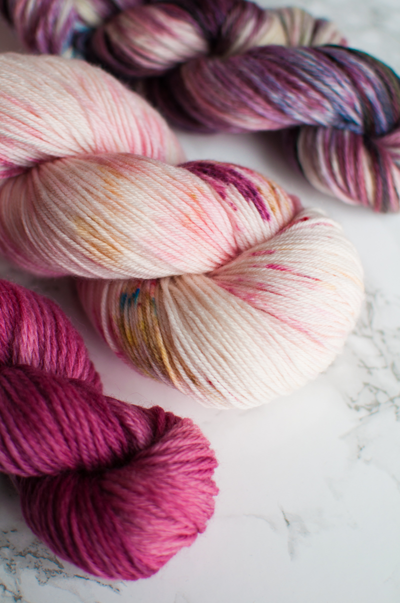 DIY yarn dyeing