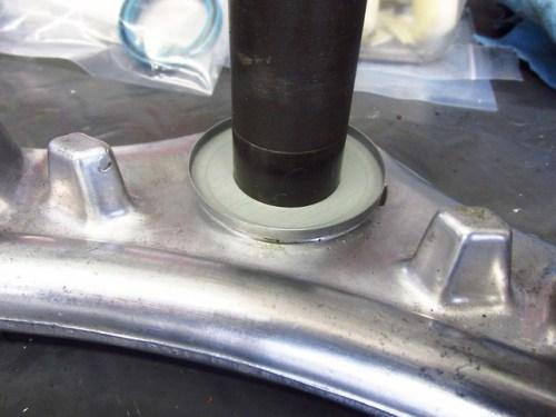 Steering Stem New Lower Dust Cover Slides Easily on Steering Stem