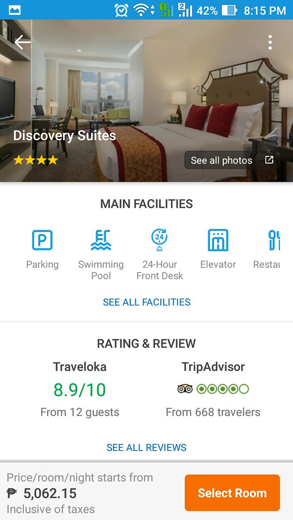 Traveloka - Discovery Suites