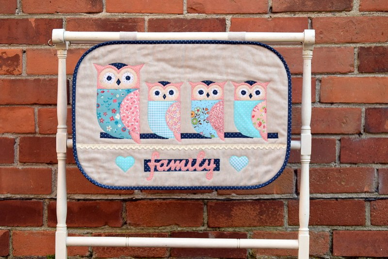 Family of Owls Wallhanging