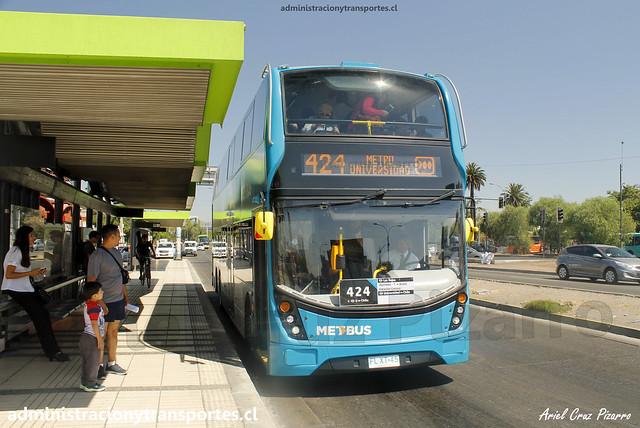 Transantiago 424 | Metbus | ADL Enviro 500 / FLXT45