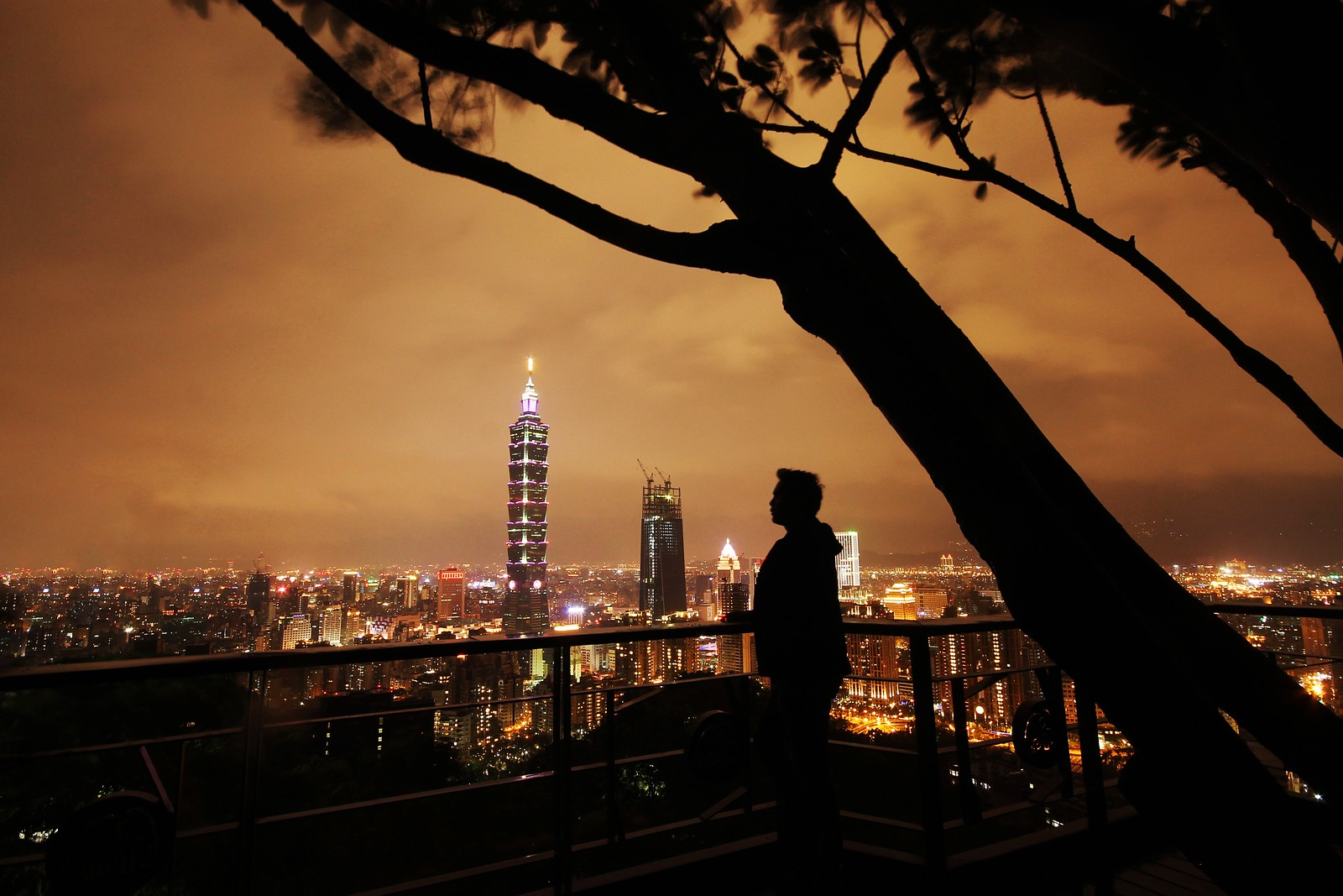 Taipei Skyline from Elephant Mountain