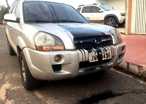 Frase do dia, Carro de Jeso Carneiro vandalizado