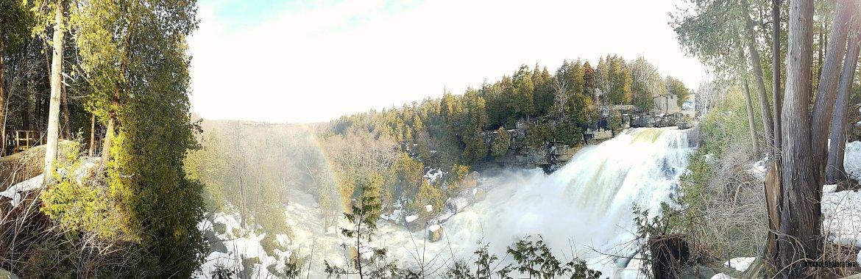 Inglis Falls Panorama