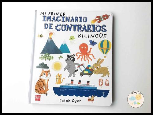 Libro Mi primer imaginario de contrarios bilingüe. Reseña