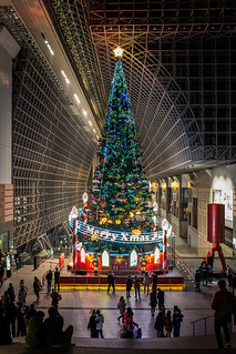 Christmas Tree In Kyoto Station Yoohei Ogino Flickr