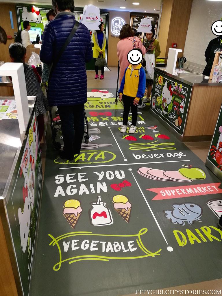 City Girl City Stories: YATA & Hello Kitty Supermarket
