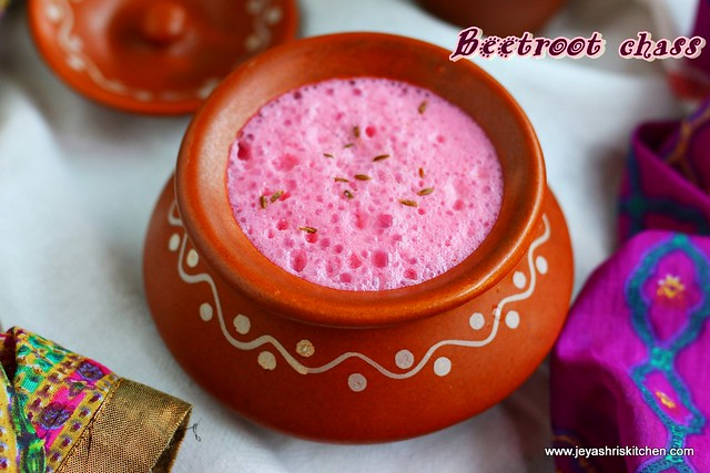 beetroot -chaas