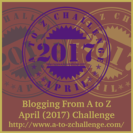 #AtoZchallenge BADGE 2017