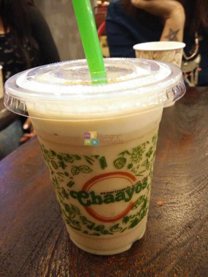 hungrynomads chaayos indirapuram habitat center summer menu