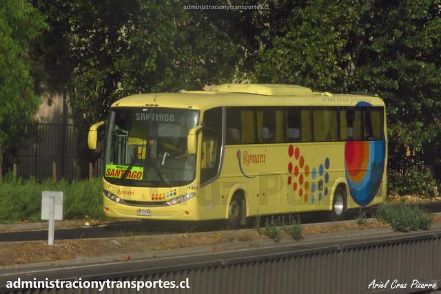 Buses Romani | Santiago | Comil Campione 3.45 - Mercedes Benz / DRTV68 - 1412