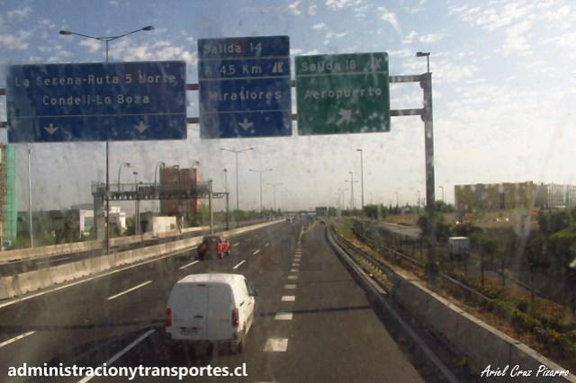 Salida Aeropuerto / Américo Vespucio - FPDW14