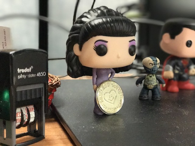 stuff on the work desk