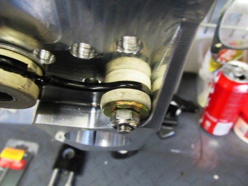 Instrument Bracket Rubber Small Bushing Mounting Detail