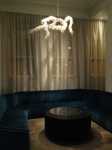 Tord Boonjte: Ice Branch Chandelier at Lexington KY 21c Museum Hotel