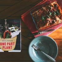 The Best Damn Plant Based Lasagna from then One Part Plant Cookbook GF/V