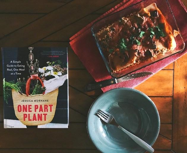 one part plant vegan lasagna