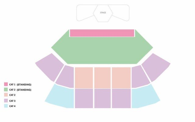 AOMG Follow The Movement in Singapore Seating Plan