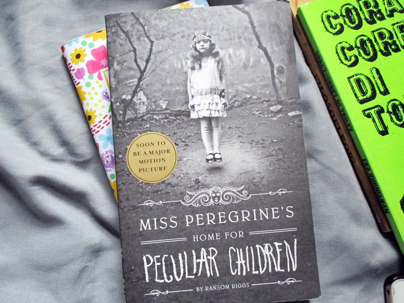 Finished in January Miss Peregrine's Home for Peculiar Children by Ransom Riggs - Hola Darla