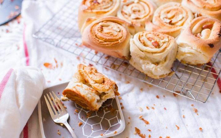 Peanut Butter & Marmite Rolls