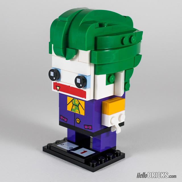 REVIEW LEGO BrickHeadz series 1 The LEGO Batman Movie 41588 The Joker